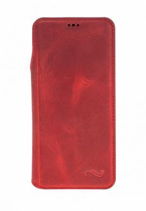 Чехол для телефона Bouletta Samsung Galaxy S9 UltimateBook. Цвет: красный