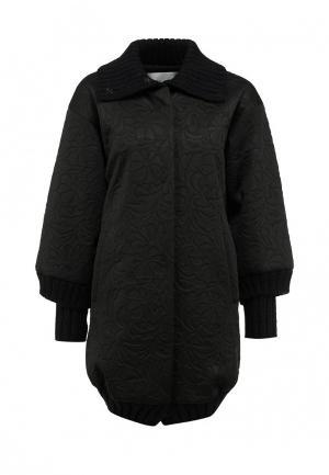Пальто Frankie Morello. Цвет: черный