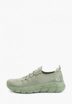 Кроссовки Skechers BOBS. Цвет: зеленый
