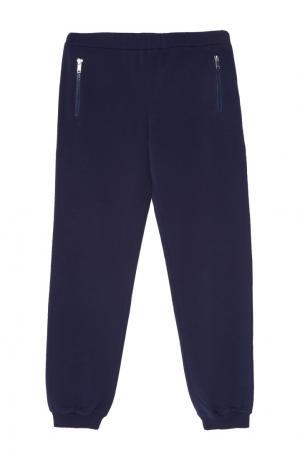 Серые брюки Gucci Kids. Цвет: multicolor