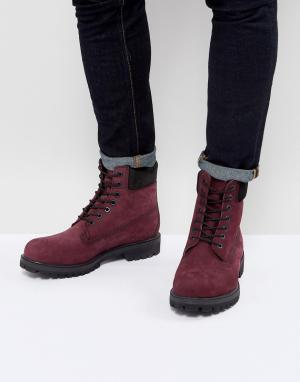Красные ботинки Classic 6 Inch Premuim Timberland. Цвет: красный