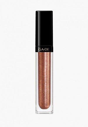 Блеск для губ Ga-De CRYSTAL LIGHTS No.806 марки. Цвет: розовый