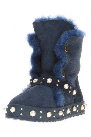 Ботинки Grand Style. Цвет: синий