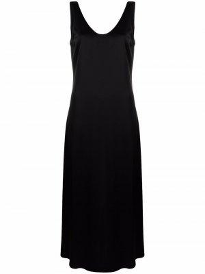 Атласное платье-комбинация Jocelyn Filippa K. Цвет: черный