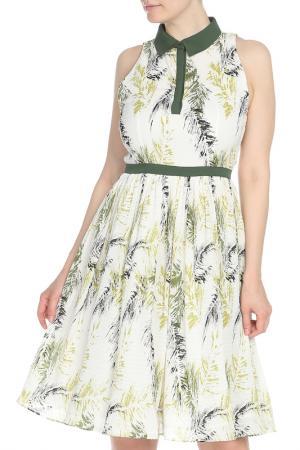Платье Isabel Garcia. Цвет: elm green, blanc de blanc, mul