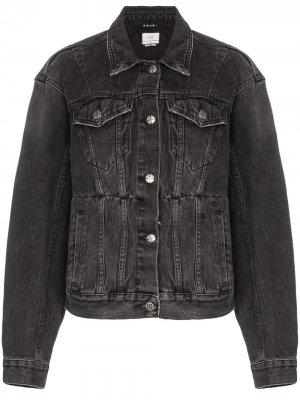 Классическая джинсовая куртка Ksubi. Цвет: черный