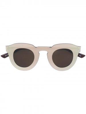 Солнцезащитные очки Christian Roth. Цвет: золотистый