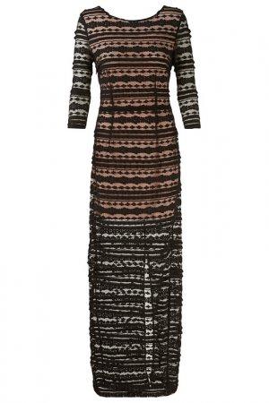 Платье Apart. Цвет: черный, бежевый