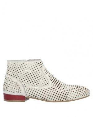 Полусапоги и высокие ботинки CAFèNOIR. Цвет: белый
