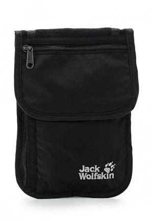 Кошелек Jack Wolfskin ORGANIZER. Цвет: черный