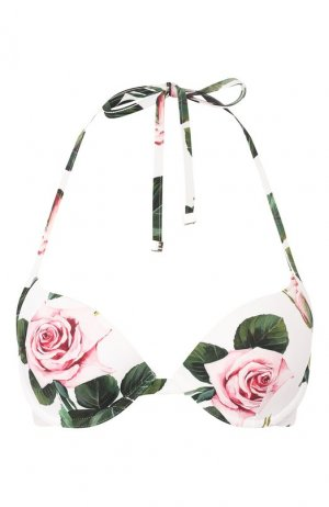 Бра с плотной чашкой Dolce & Gabbana. Цвет: белый