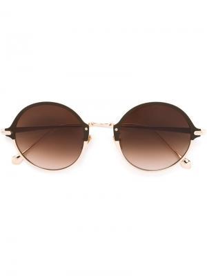 Солнцезащитные очки Samba Bambi Frency & Mercury. Цвет: металлический