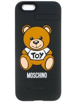 Чехол для iPhone 6 Moschino. Цвет: черный