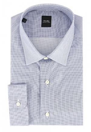 Рубашка SMALTO. Цвет: голубой