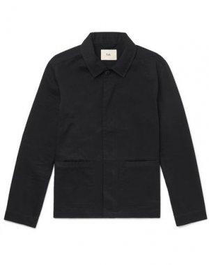 Куртка FOLK. Цвет: черный