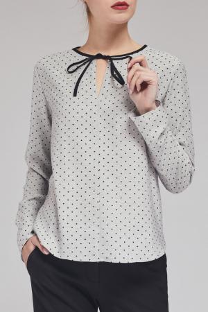 Блуза Charuel. Цвет: серый