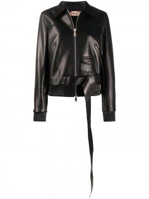 Куртка-бомбер Nº21. Цвет: черный