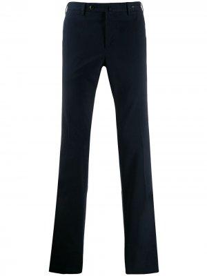 Классические брюки чинос прямого кроя Pt01. Цвет: синий