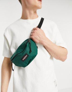 Зеленая сумка-кошелек на пояс -Зеленый цвет Eastpak