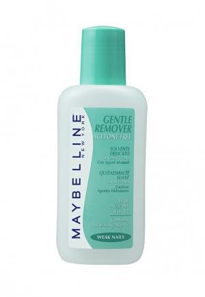 Средство для снятия лака Maybelline New York Gentel Remover, с экстрактом авокадо, ломких ногтей, без ацетона, 125 мл