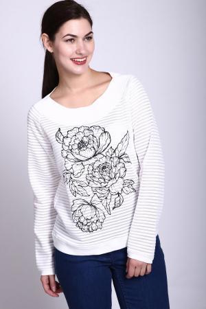Пуловер Lecomte. Цвет: белый