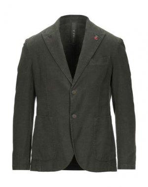 Пиджак FAG. Цвет: зеленый-милитари