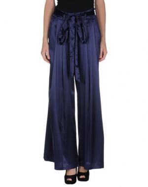 Повседневные брюки JASMINE DI MILO. Цвет: темно-синий