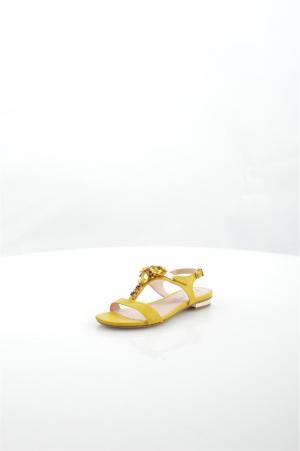 Босоножки Tiffi. Цвет: желтый
