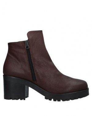 Полусапоги и высокие ботинки ENTOURAGE. Цвет: темно-коричневый