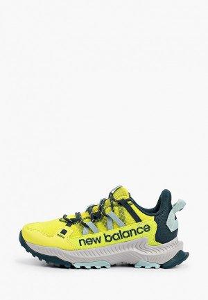Кроссовки New Balance Shando. Цвет: зеленый