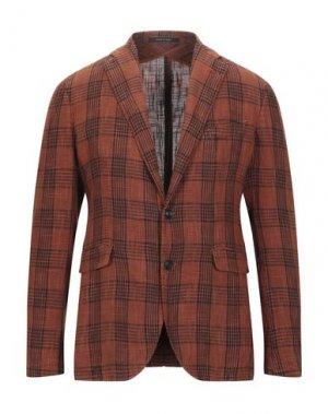 Пиджак PINO LERARIO 02-05. Цвет: ржаво-коричневый