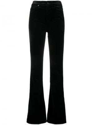 Бархатные расклешенные джинсы 7 For All Mankind