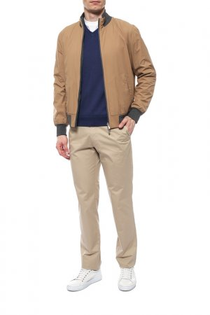 Куртки Brunello Cucinelli. Цвет: светло-коричневый, серый