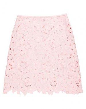 Юбка до колена LUISA CERANO. Цвет: розовый
