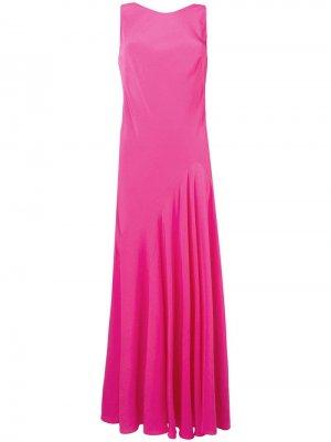 Платье с рюшами Aspesi