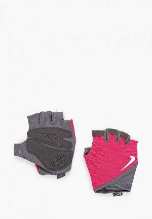 Перчатки для фитнеса Nike WOMENS GYM ESSENTIAL FITNESS GLOVES. Цвет: розовый