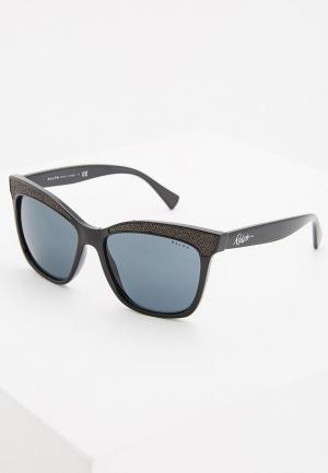 Очки солнцезащитные Ralph Lauren RA5235 137787. Цвет: черный