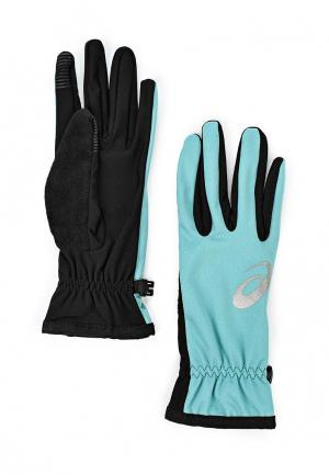 Перчатки ASICS WINTER PERFORMANCE GLOVES. Цвет: мятный