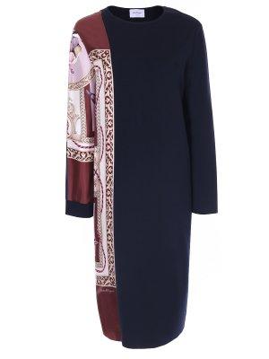 Платье комбинированное S.FERRAGAMO