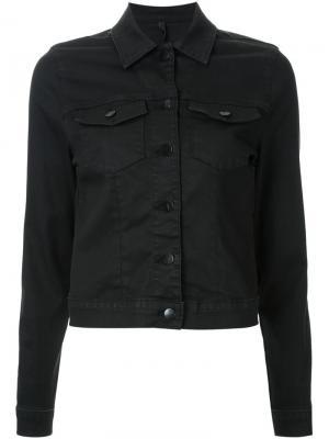 Джинсовая куртка Nobody Denim. Цвет: чёрный