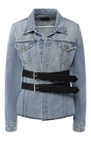 Джинсовая куртка RTA. Цвет: голубой
