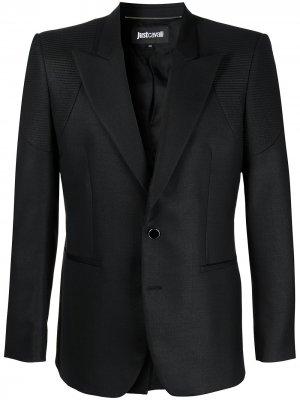 Однобортный пиджак Just Cavalli. Цвет: черный