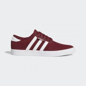 Кеды-слипоны SEELEY Originals adidas. Цвет: белый