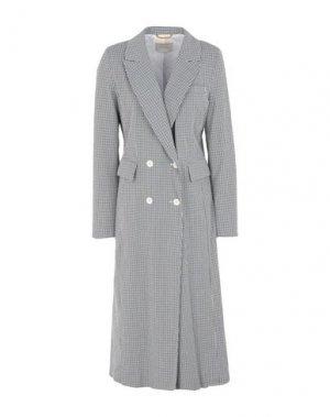 Легкое пальто MOMONÍ. Цвет: темно-синий