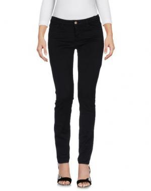 Джинсовые брюки ACQUAVERDE. Цвет: черный