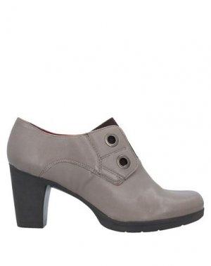 Ботинки KHRIO'. Цвет: голубиный серый