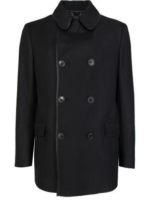 Шерстяное пальто-бушлат GUCCI