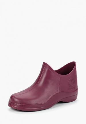 Резиновые ботинки Speci.All. Цвет: бордовый
