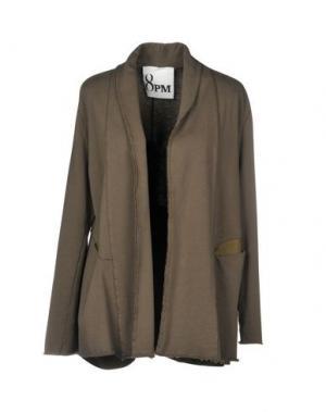 Пиджак 8PM. Цвет: зеленый-милитари