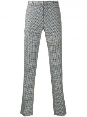 Классические брюки в клетку PAUL SMITH. Цвет: серый
